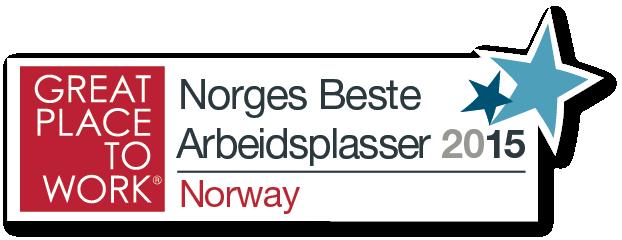 Norges Beste Arbeidsplasser 2015