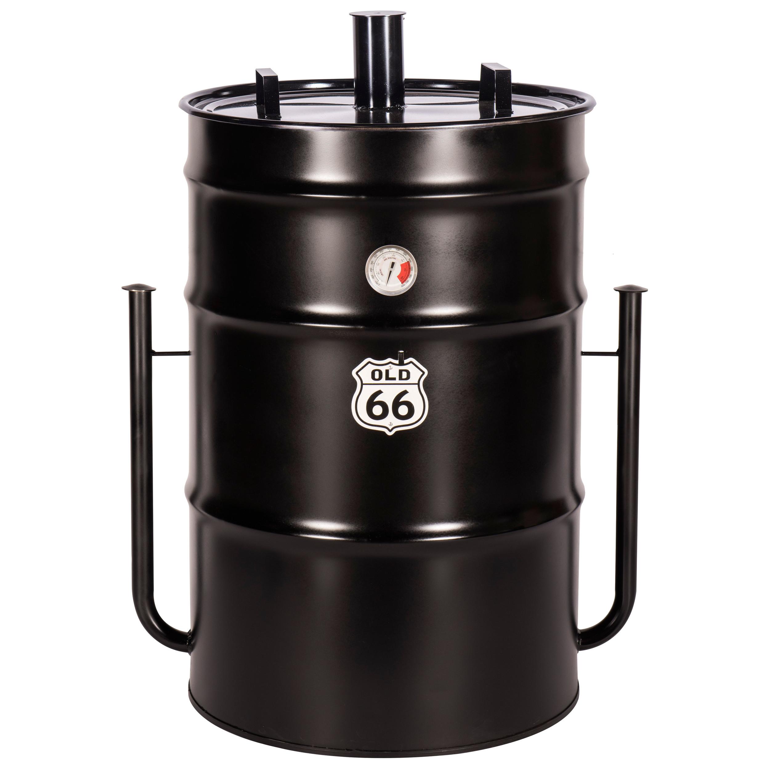 "Old 66 85-Gallon Drum Smoker        40""H x 26""D"