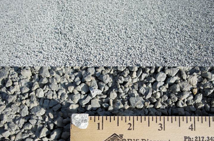 "042CA16 WR - This is a crushed stone product. It is a white rock stone that is crushed down to 3/8"" size. We offer dry or washed material.   --Recommended for use on driveways with a good base, and for oiling    roads."
