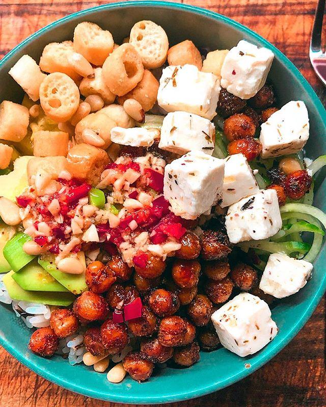 Kan ikke klage på middagen i dag 😍 #buddabowl
