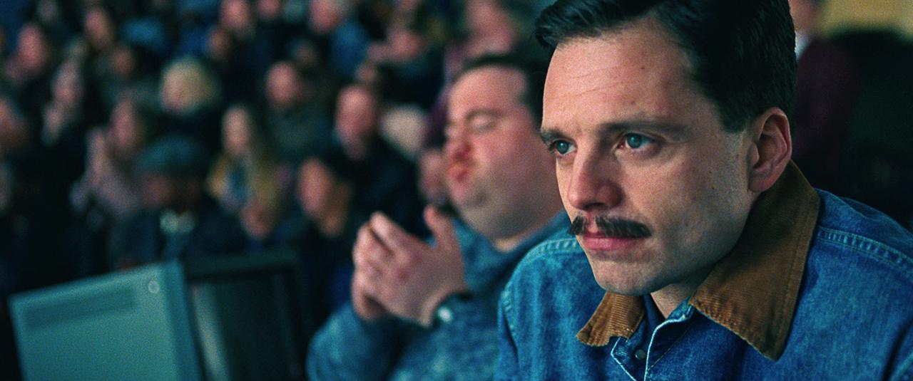 Sebastian Stan's mustache was my favorite character in the film.
