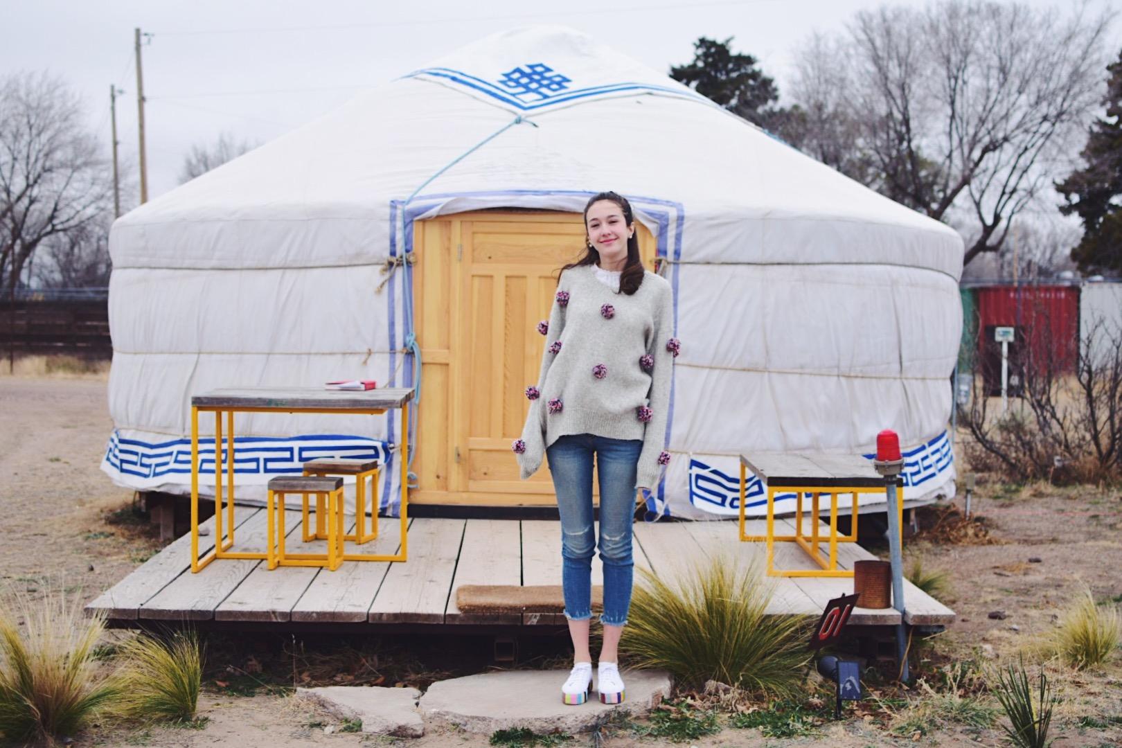 MTV Welcome to My Yurt — Mod & Bean