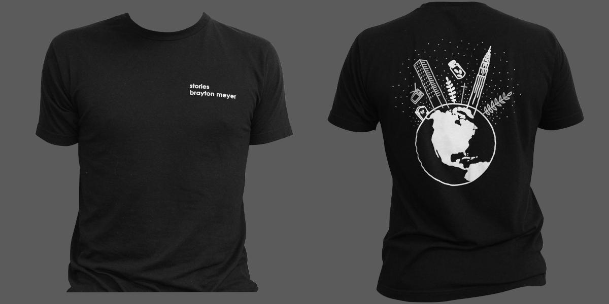 Stories T-Shirt $20 - S M L XL XXL-($25)
