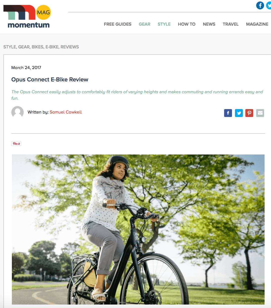 Photo:https://momentummag.com/opus-connect-e-bike-review/