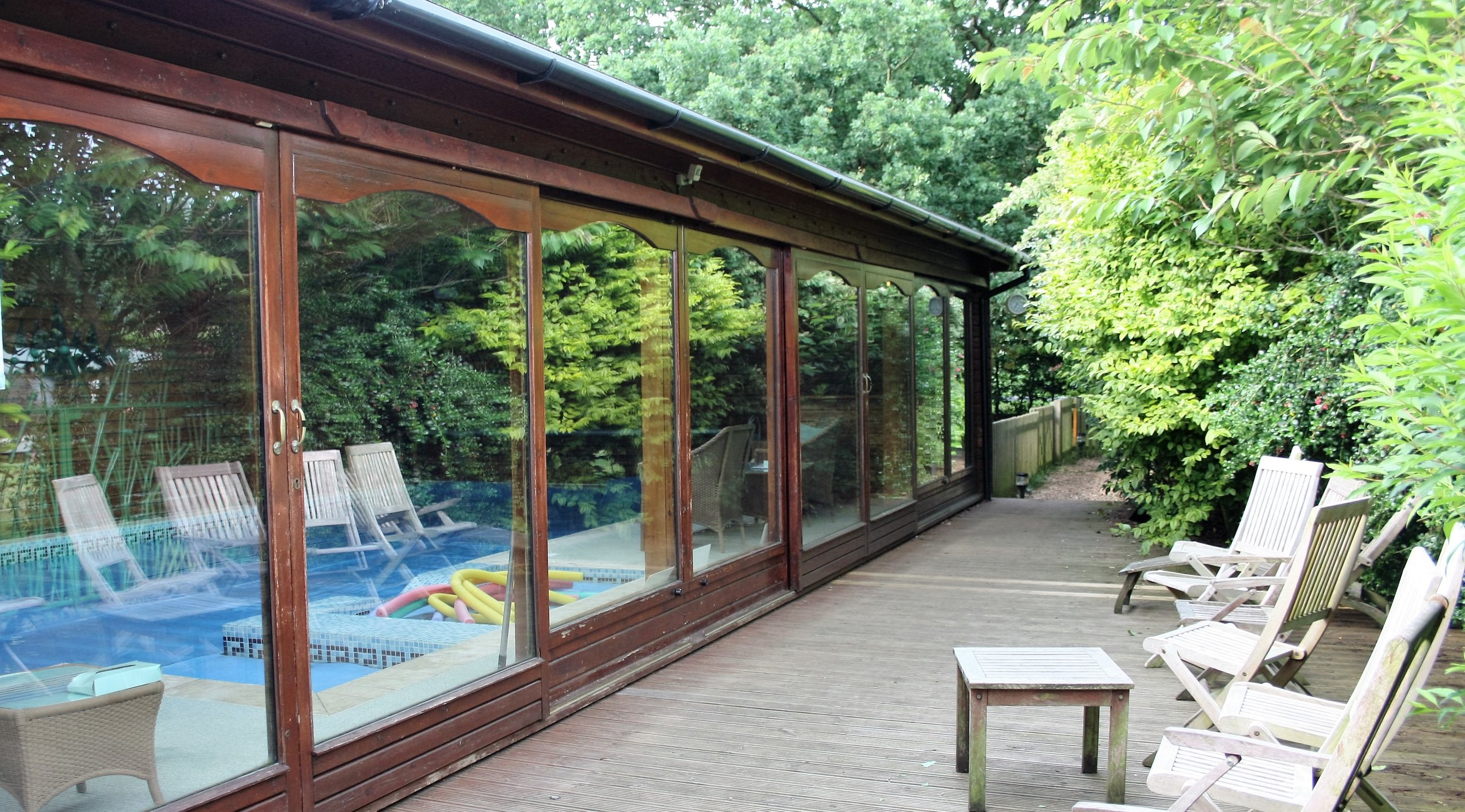 Fordfield House private swimming pool