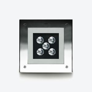 ZIP  Square 14W or 16W Stainless  Spec  ►  IES/CAD  ► Aluminum  Spec  ►  IES/CAD  ►
