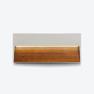 SKILL  Rectangular Wood 13.5W 380 lm  Spec  ►  IES/CAD  ►  Instructions  ►
