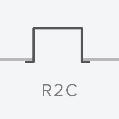Recessed 2 Circuit Track  120V or 277V  Spec  ►