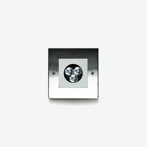 MINIZIP  Square 3W or 6W Stainless  Spec  ►  IES/CAD  ► Aluminum  Spec  ►  IES/CAD  ►