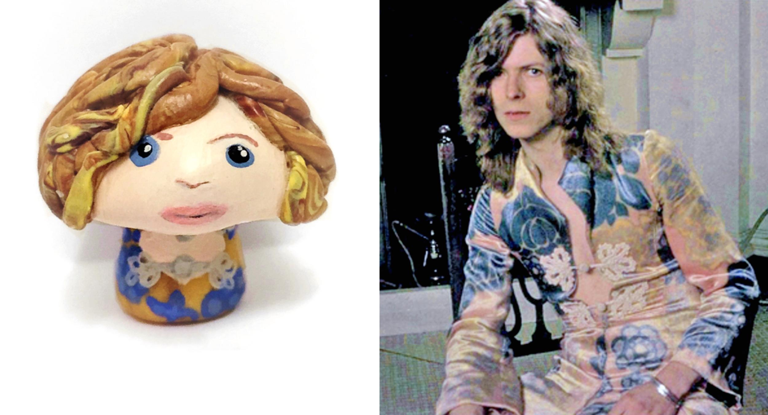 Hippie Bowie 'Shroom