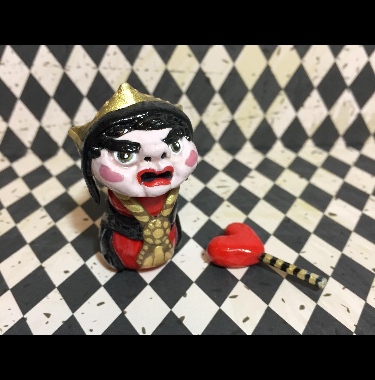 Queen of Hearts // The Red Queen 'Shroom Sculpture