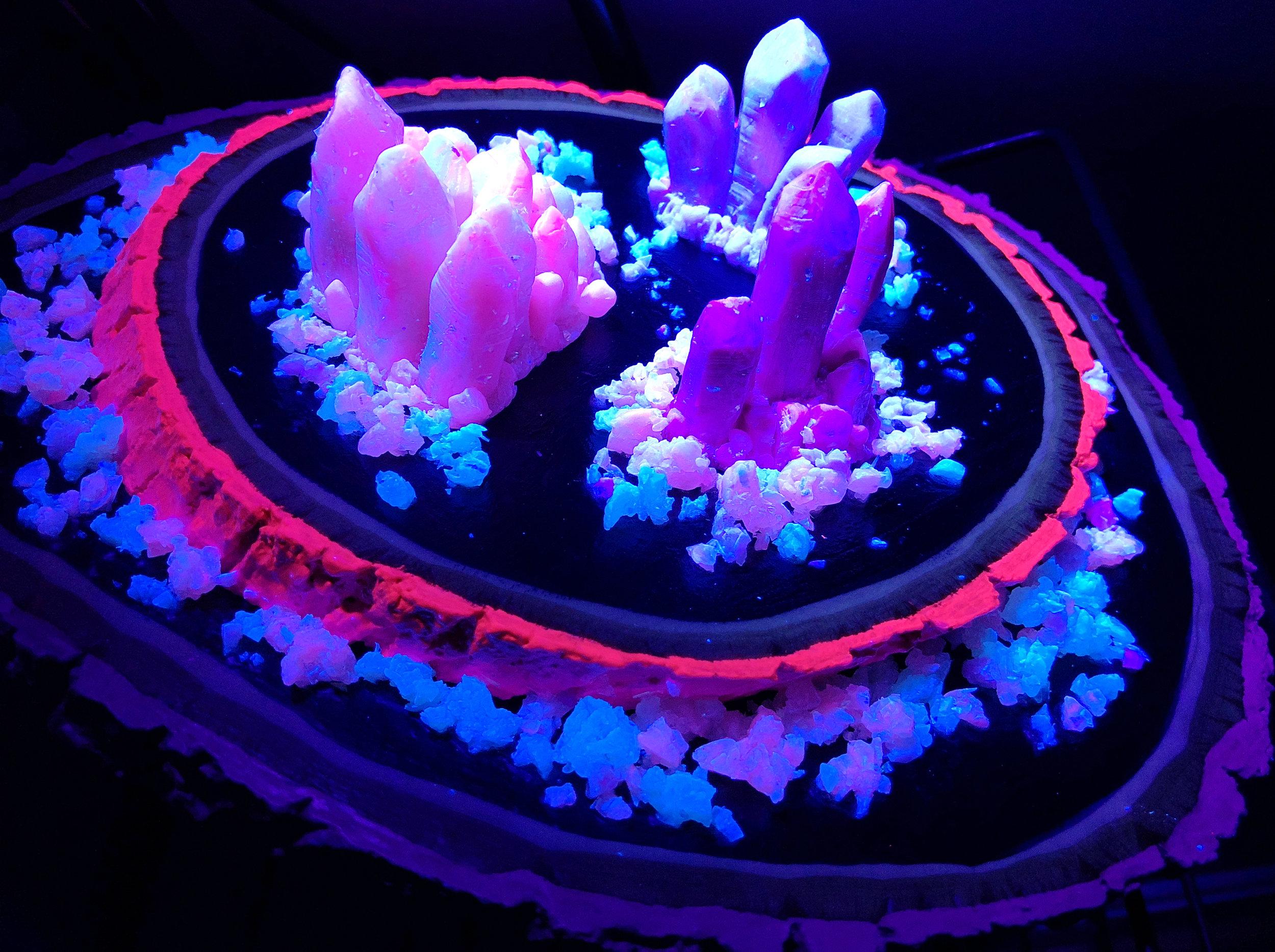 Impression of a Florescent Geode (Blacklight Detail) - JD Shanley.jpg