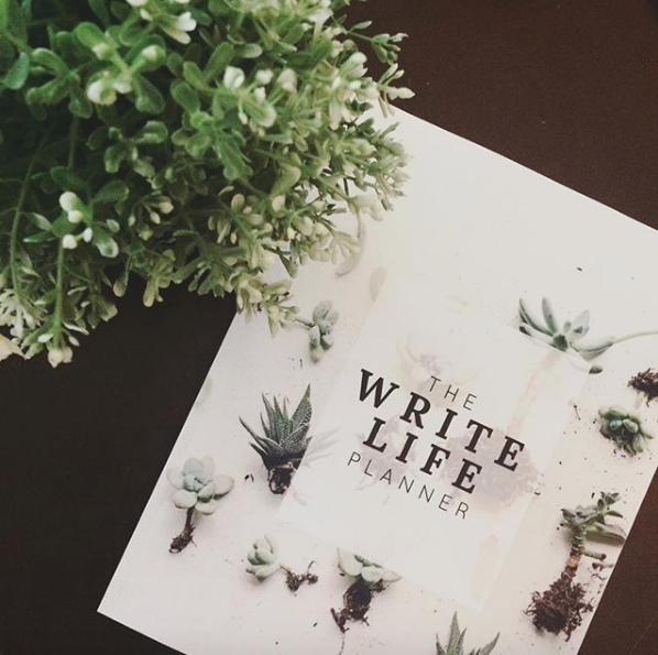 I created an awesome planner for writers - In this blank-dated three-month planner, you aim to conquer one epic writing goal in the span of a season. With daily prompts and weekly check-ins,The WriteLife Planner helps you transform your writing dreams into concrete actions.