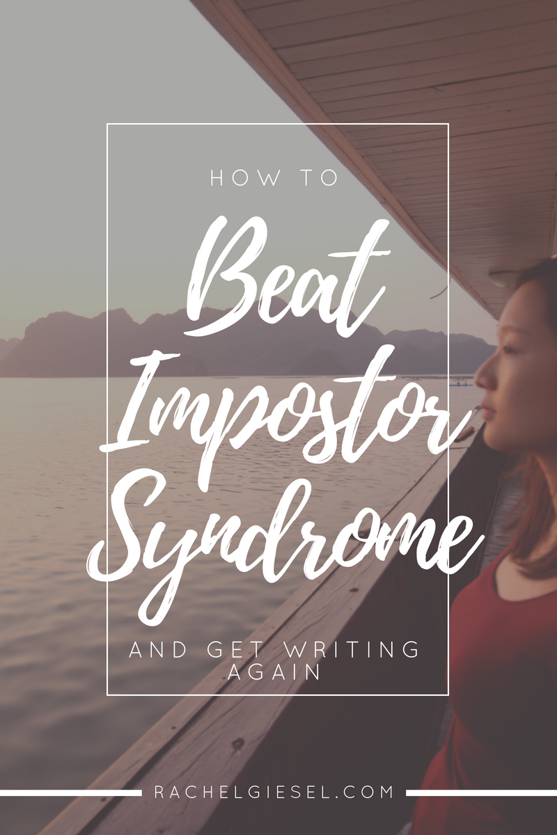 Do you ever feel like you're not good enough? Like you're not a real writer? It's a paralyzing fear caused by your evil internal editor, and it can make you stop writing. Learn what the imposter syndrome is and how to get rid of it, so you can get back to working on your real good writing.