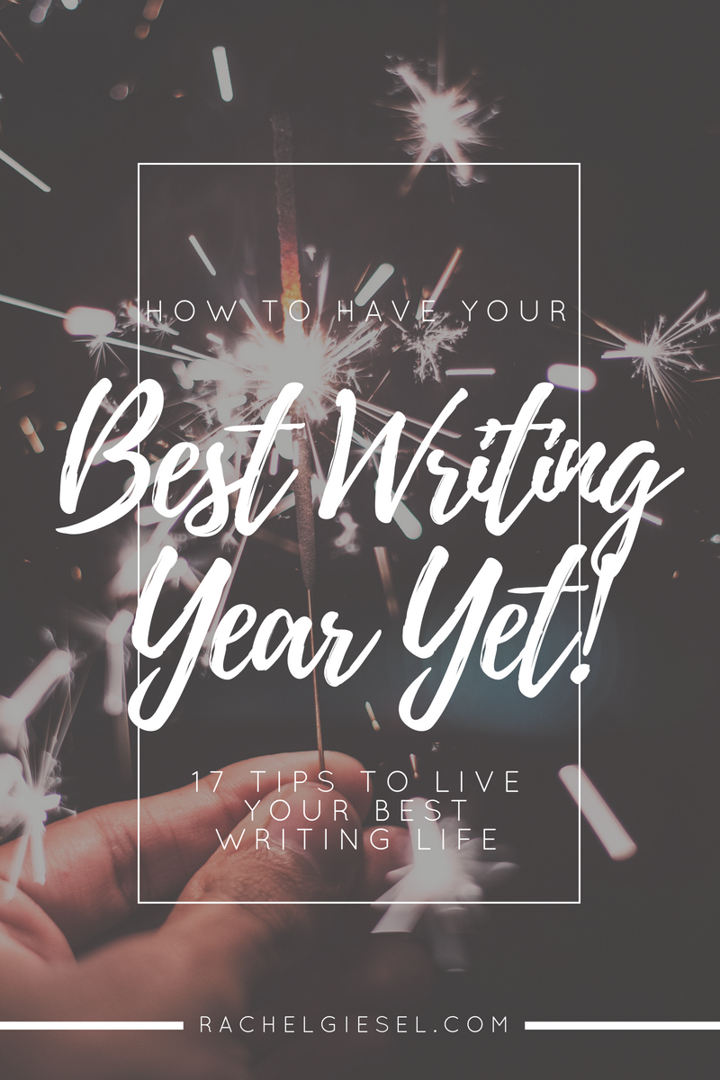 Can you believe it's 2017?! (I can't). You are starting a brand new page in the novel of your writing life, and I am determined to help you make this  your best writing year yet ! So, in the spirit of 2017, I've got a total of  17 tips to help you plan your writing year, transform your writing dreams into your reality, and become the writer you were always meant to be. Are you ready?! Click through to read the whole post!