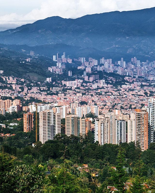 Medellín! Beautiful last stop 🌺