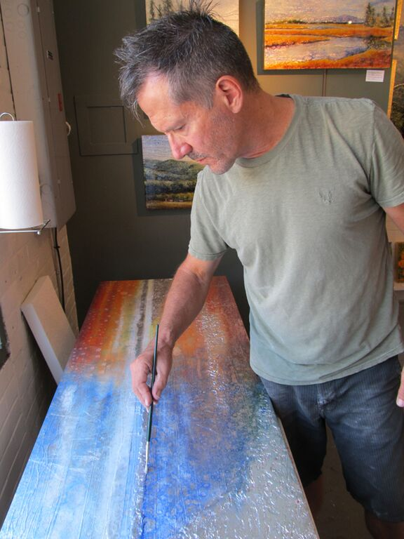 Oil Paintings by Stephen St. Claire | Process