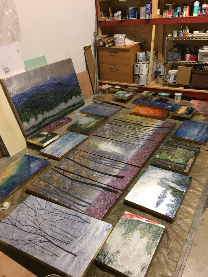 "My ""inner studio"" behind the curtain..."