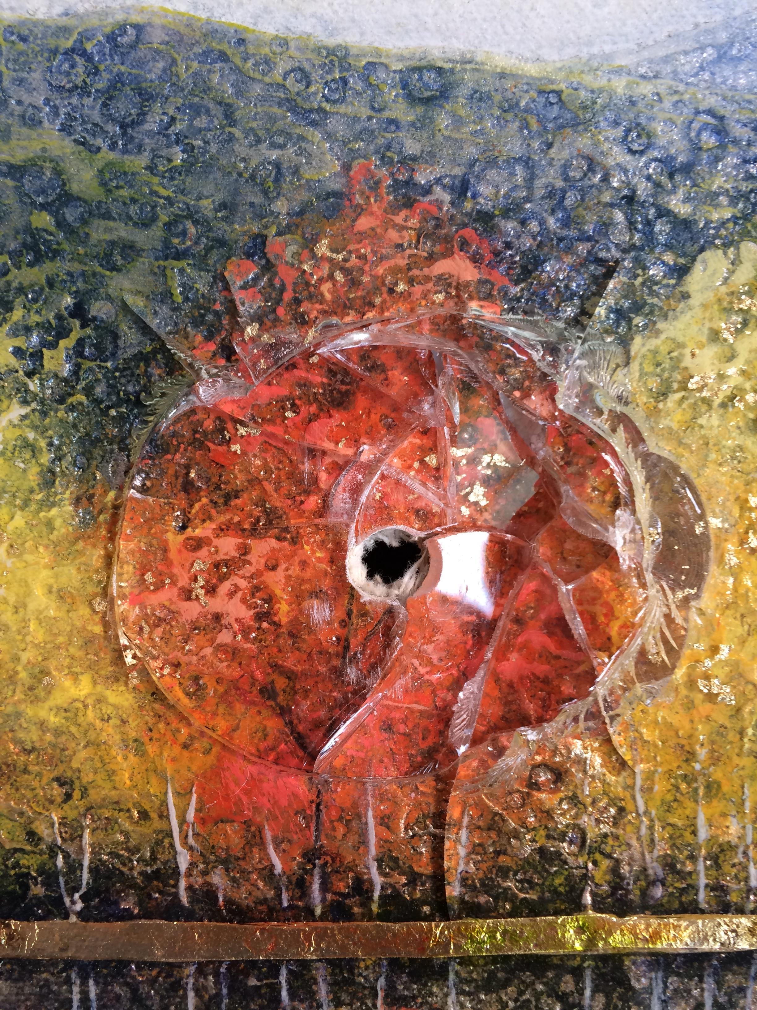 St.Claire landscape painting (close up 3)