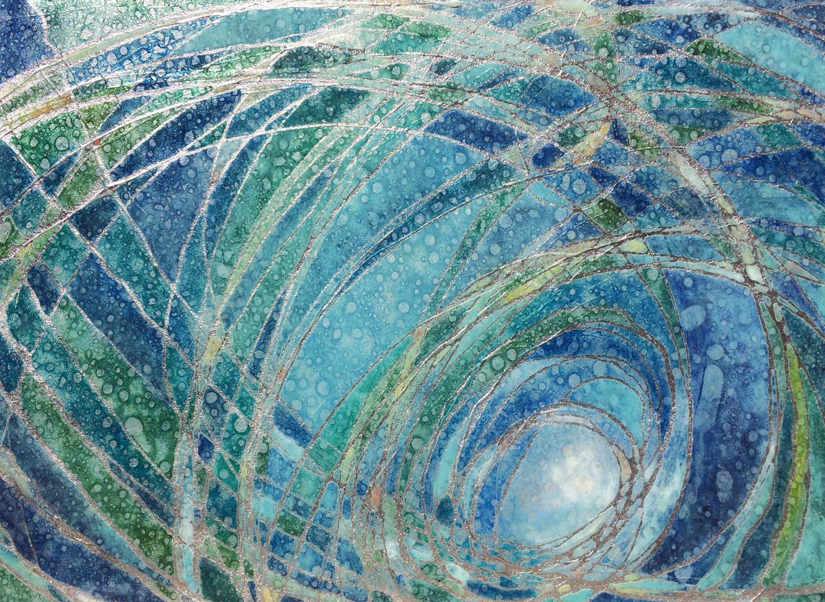 """""""Azure Spirals"""""""