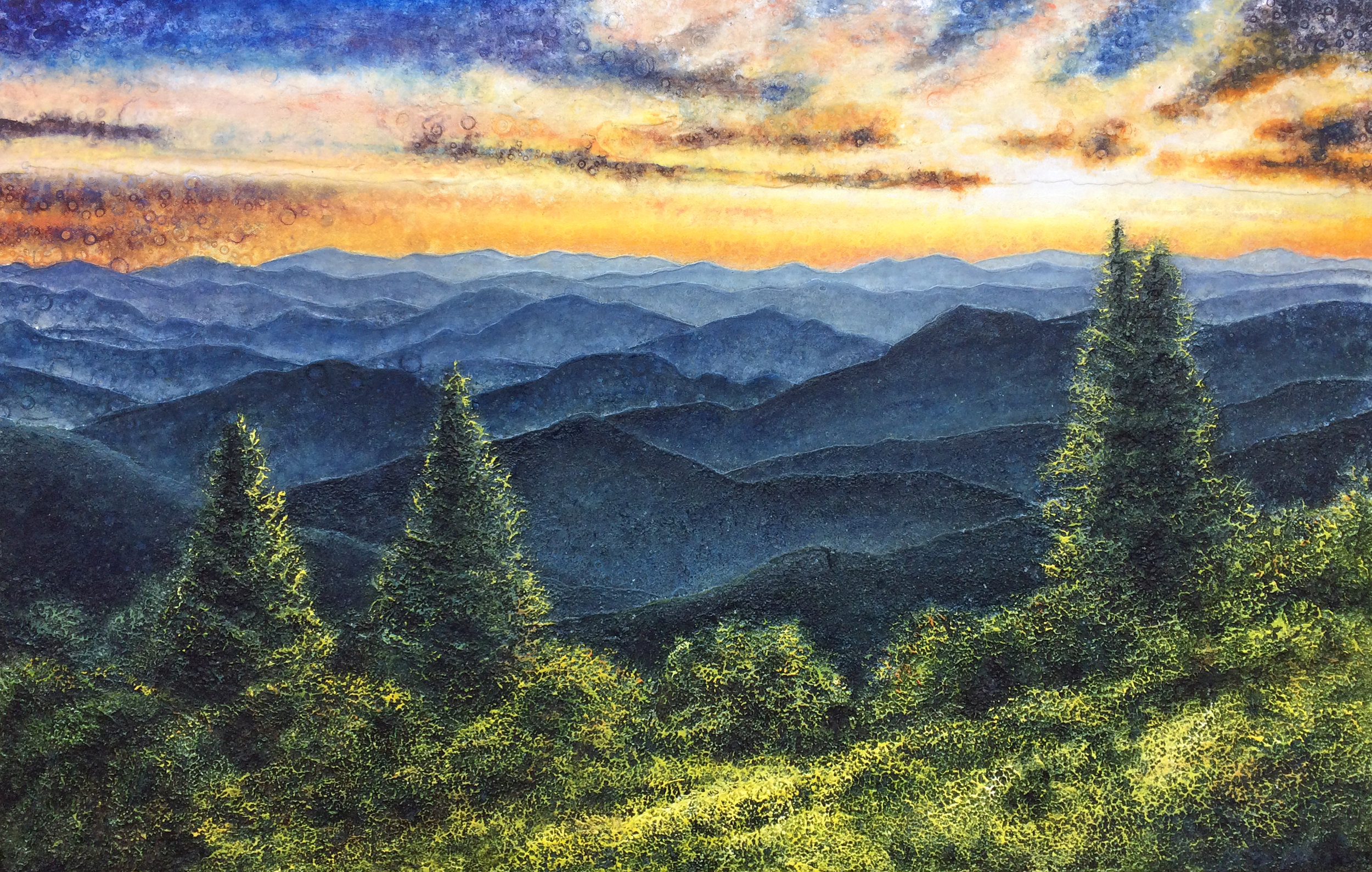 Cranberry Ridge Sunset