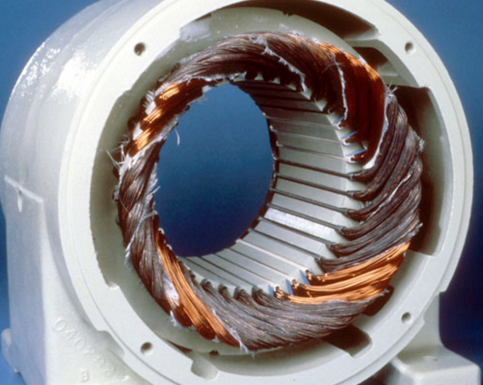 Winding single-phased (wye-connected)