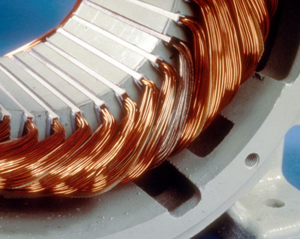 Winding with shorted coil