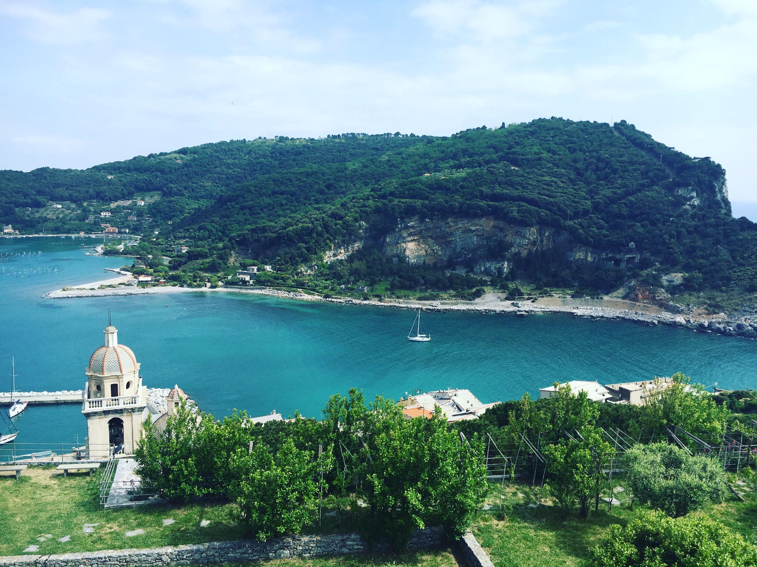 The view from Castello Doria