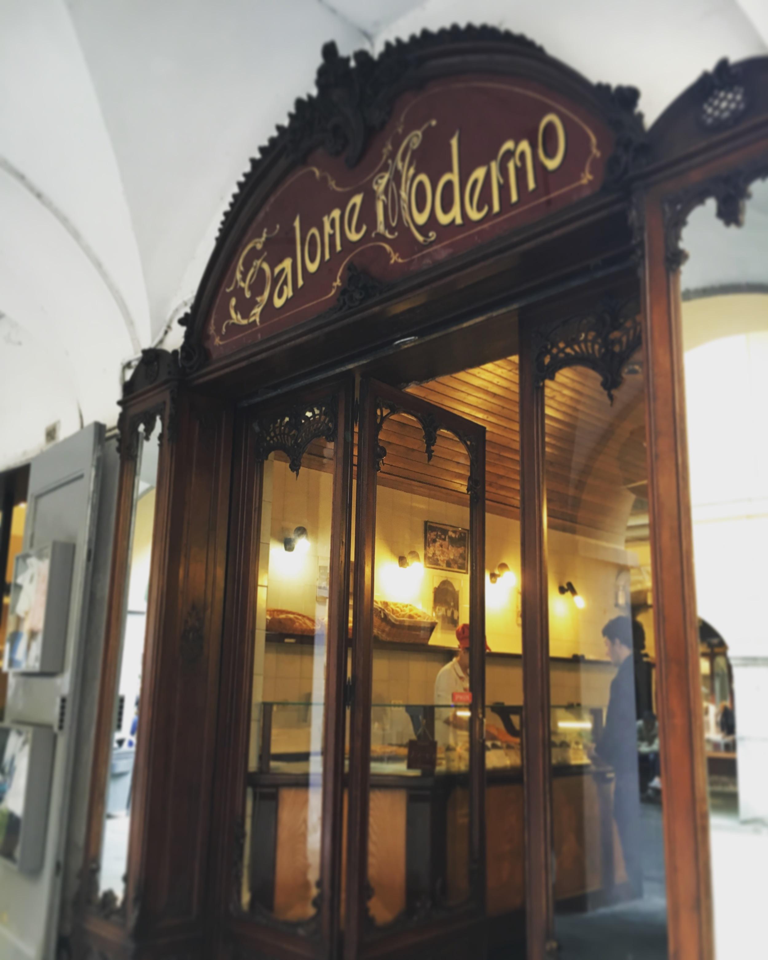 Typical shop facade in Centro Storico