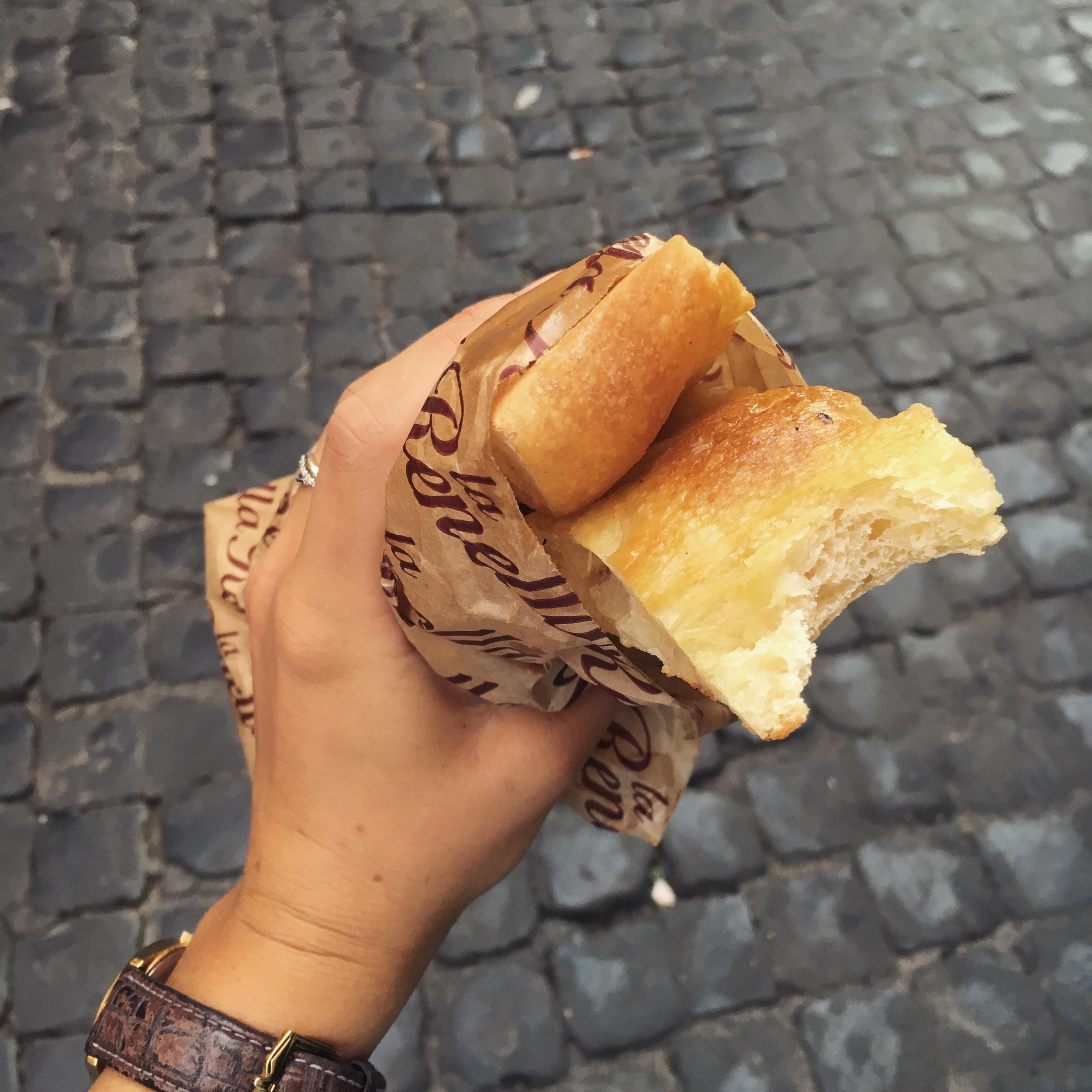 Pizza Bianco Best Street Food Rome