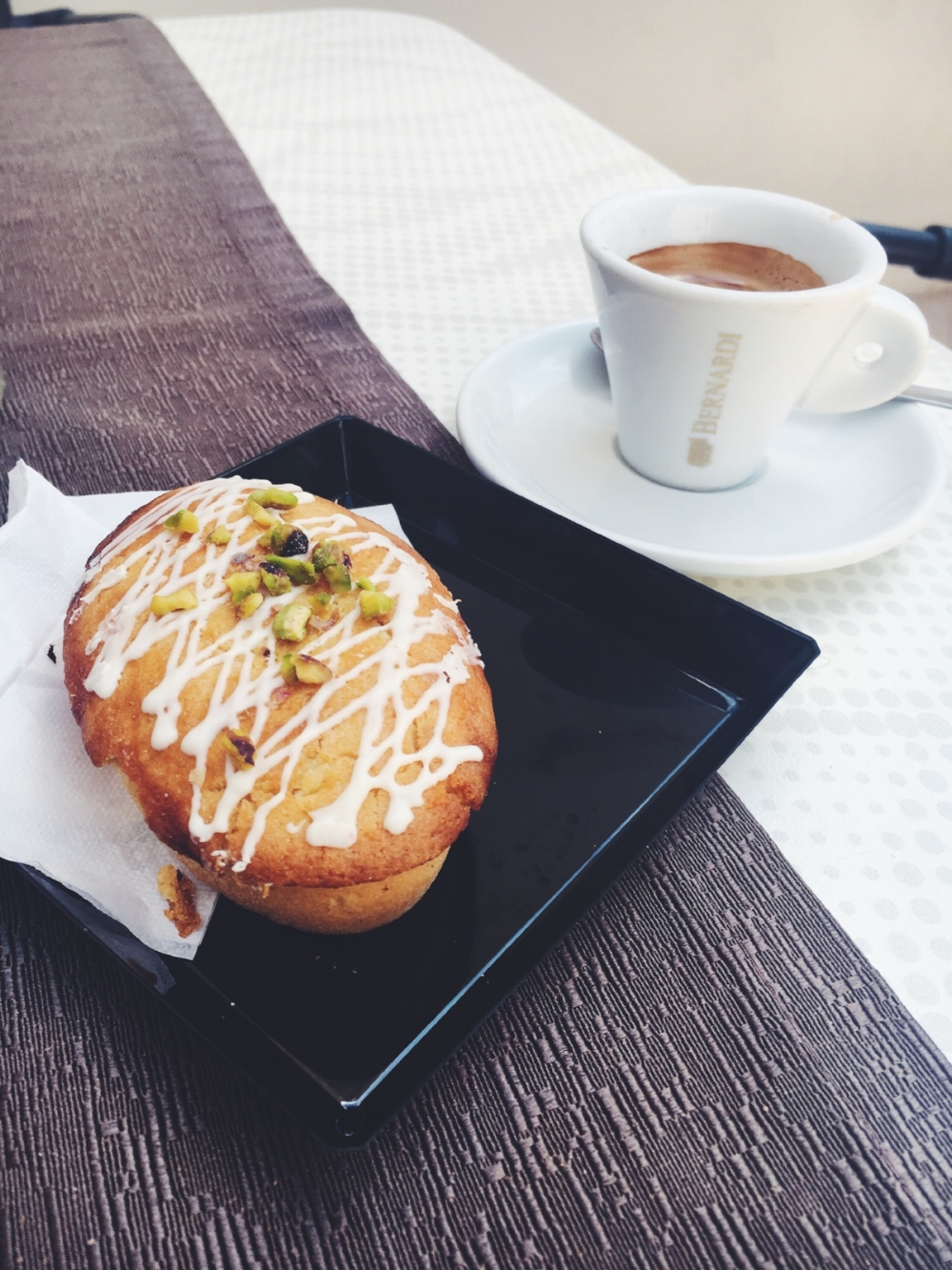 If you're headed here for breakfast time, try one of their 'pasticciotto'. These small pastries are renowned in Puglia and the ones here are particularly delicious. Learn more about Pasticciotto over   here.