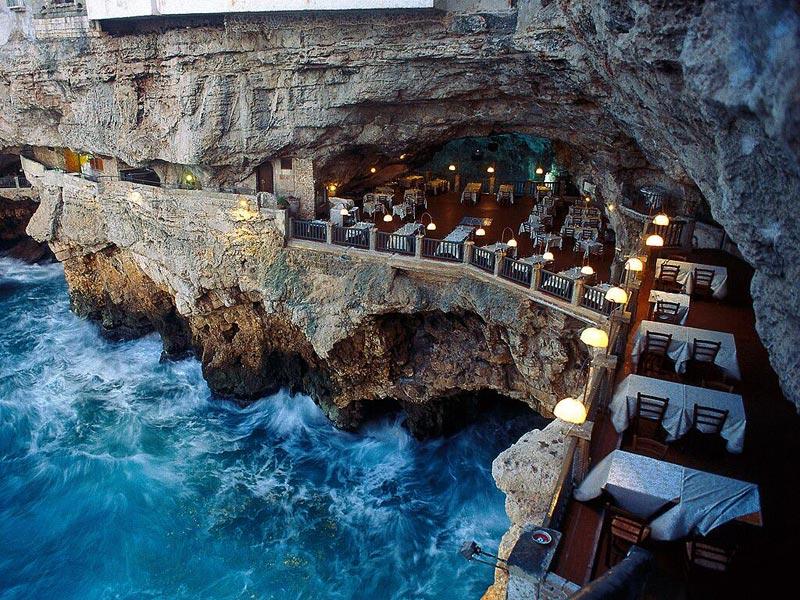 Polignano a Mare Grotto Palazzese