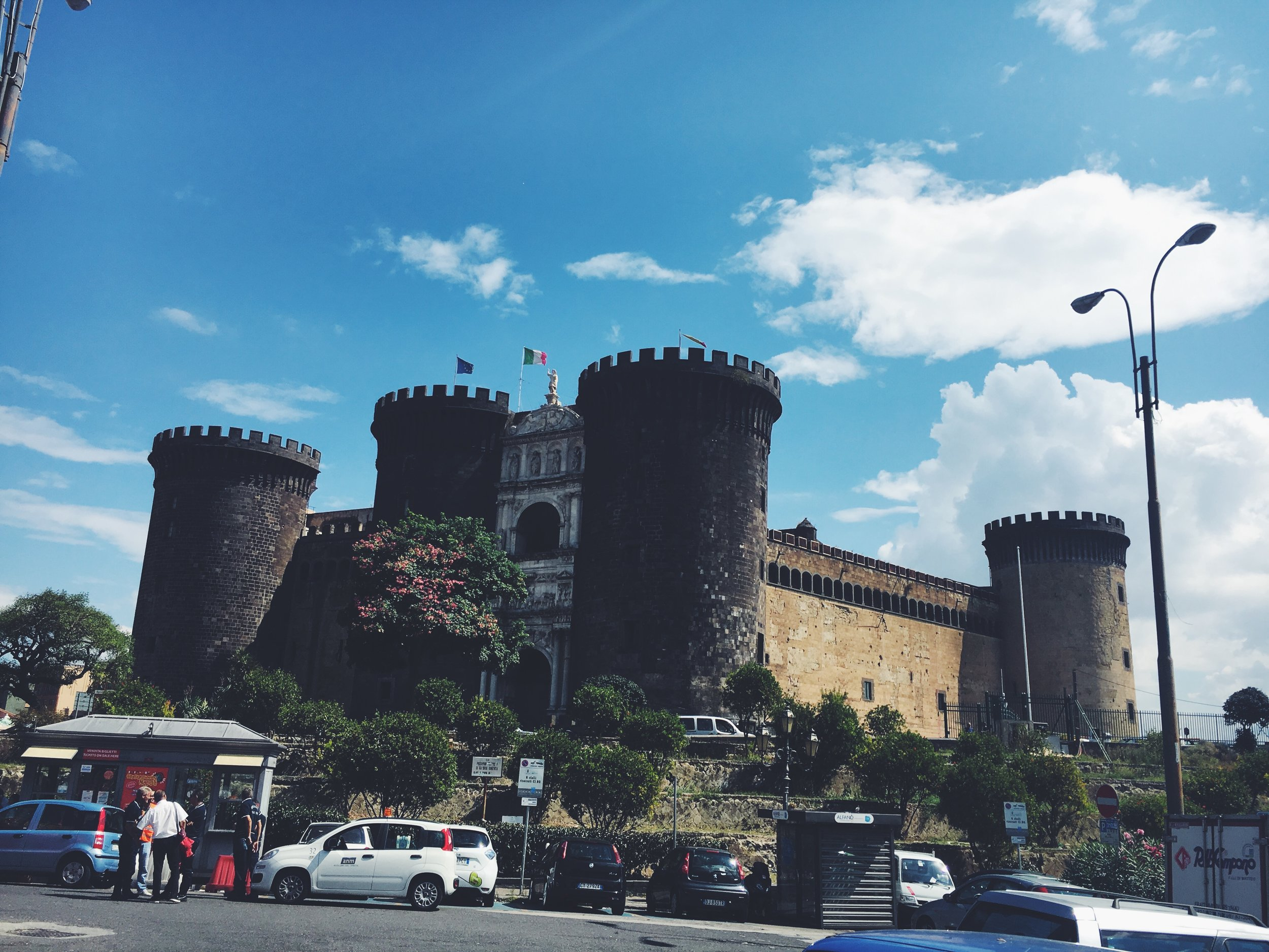 The Medieval Castel Nuovo
