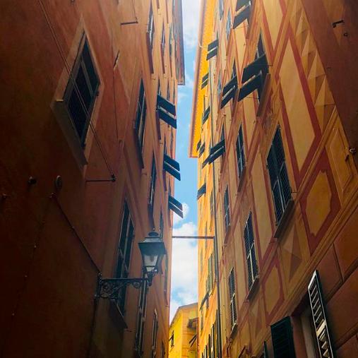 Camogli street