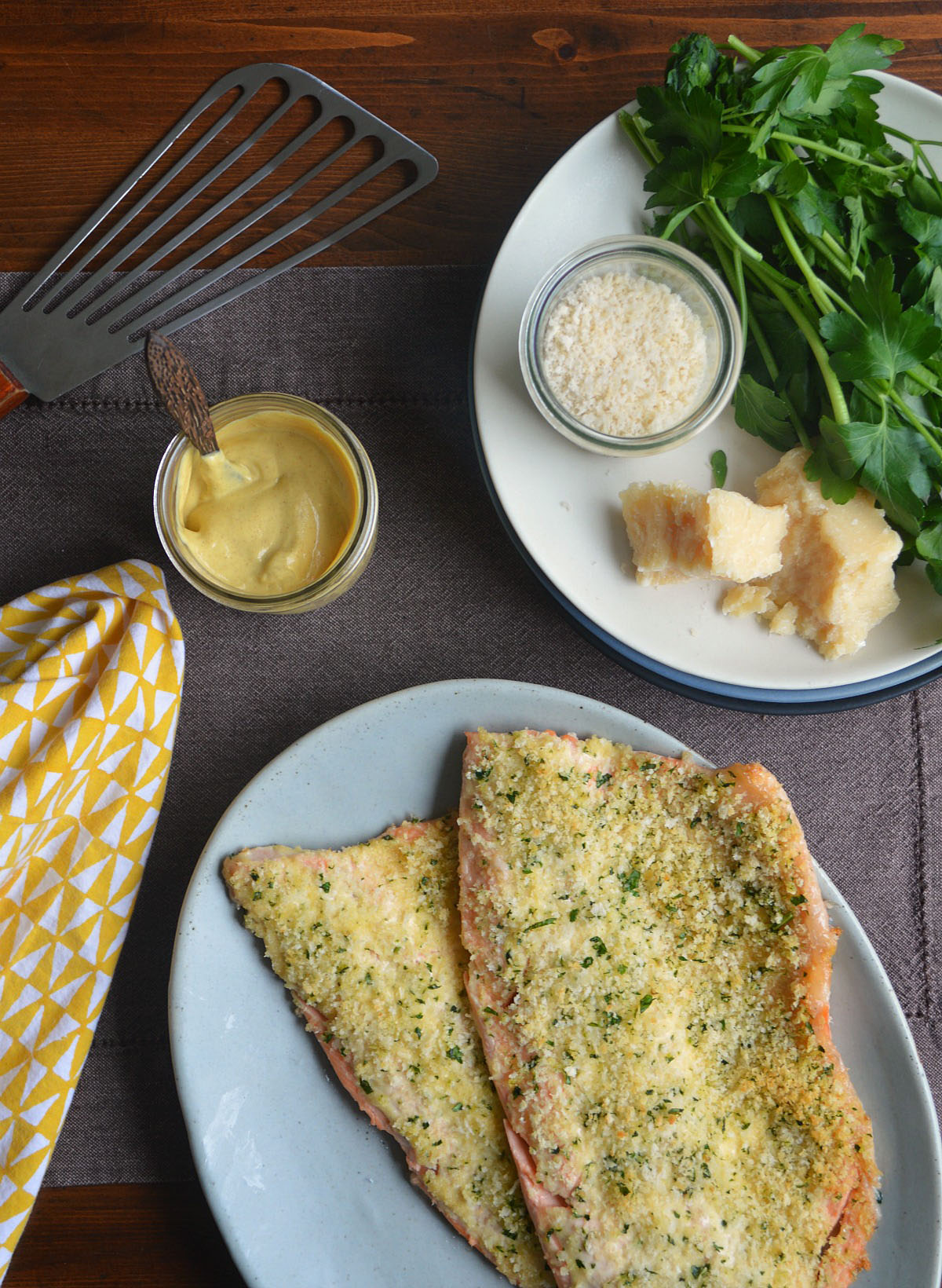 Crunchy Oven-Baked Rainbow Trout