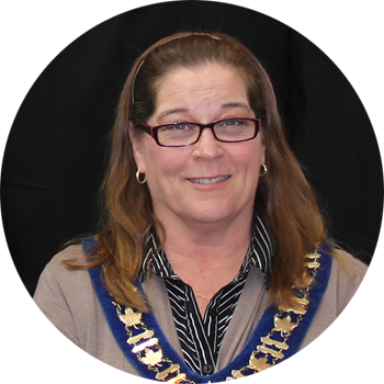 Mayor Teresa (Terry) M. James  Village of Blacks Harbour New Brunswick