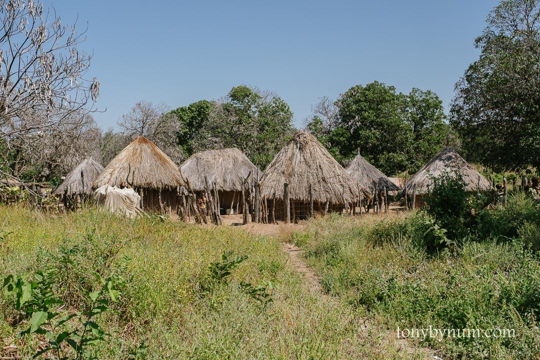 Tsoli tribal village awaiting a school.