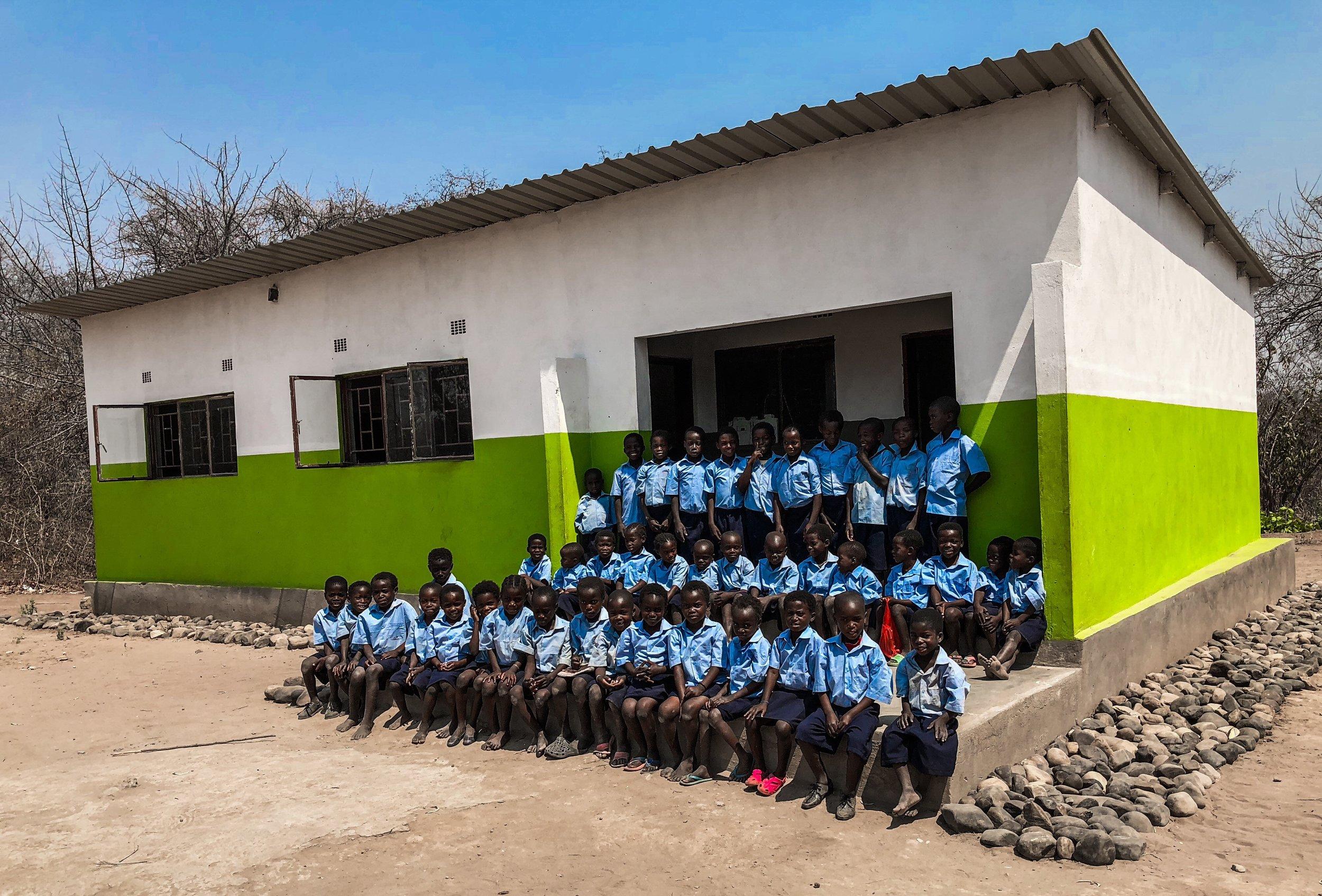 New school for the Tsoli tribe children!