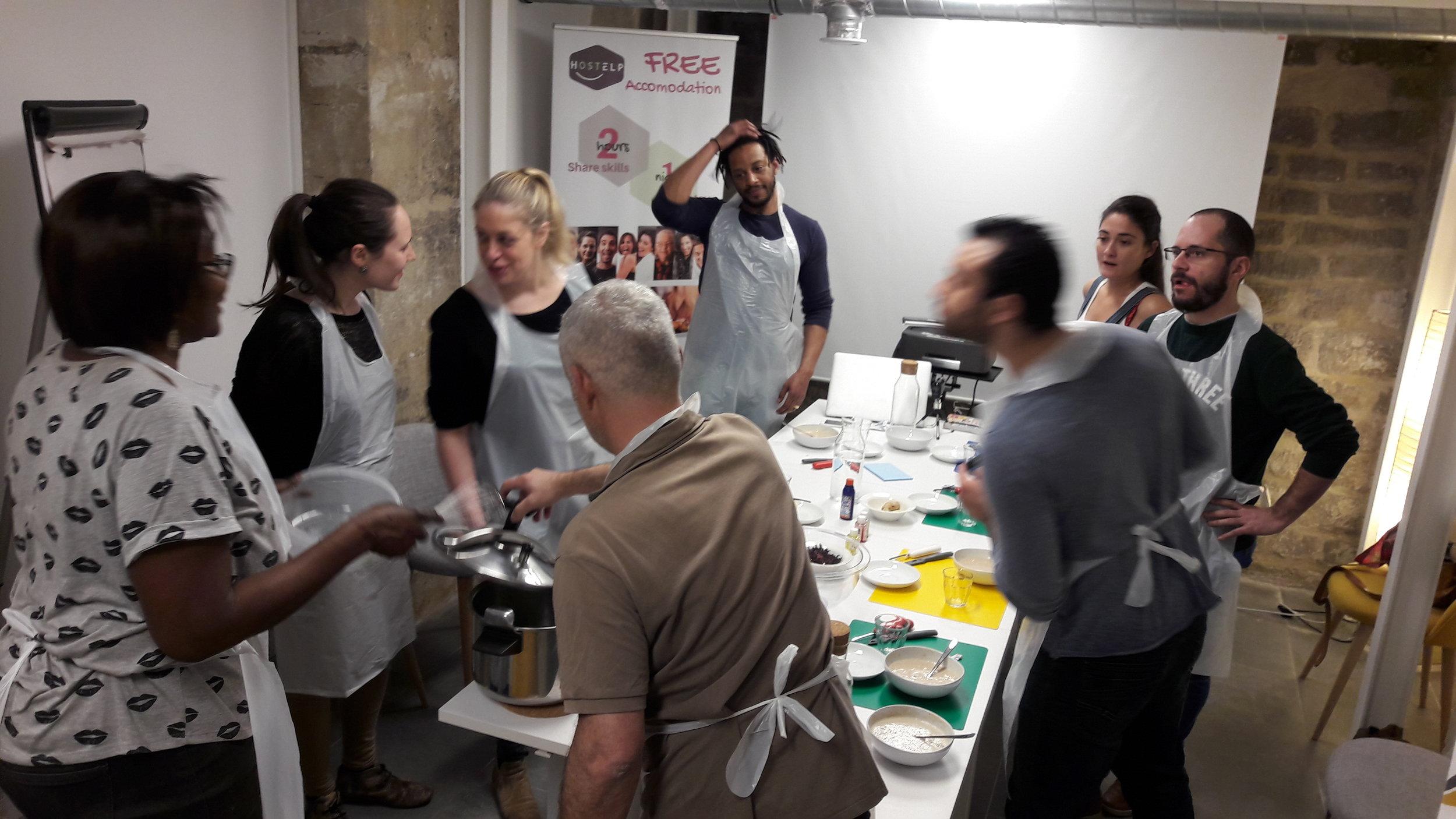 Workshop jus de fruits sénégalais