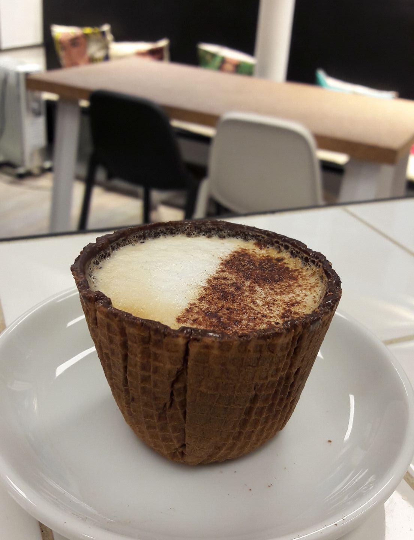 Café à croquer en exclusivité mondiale !