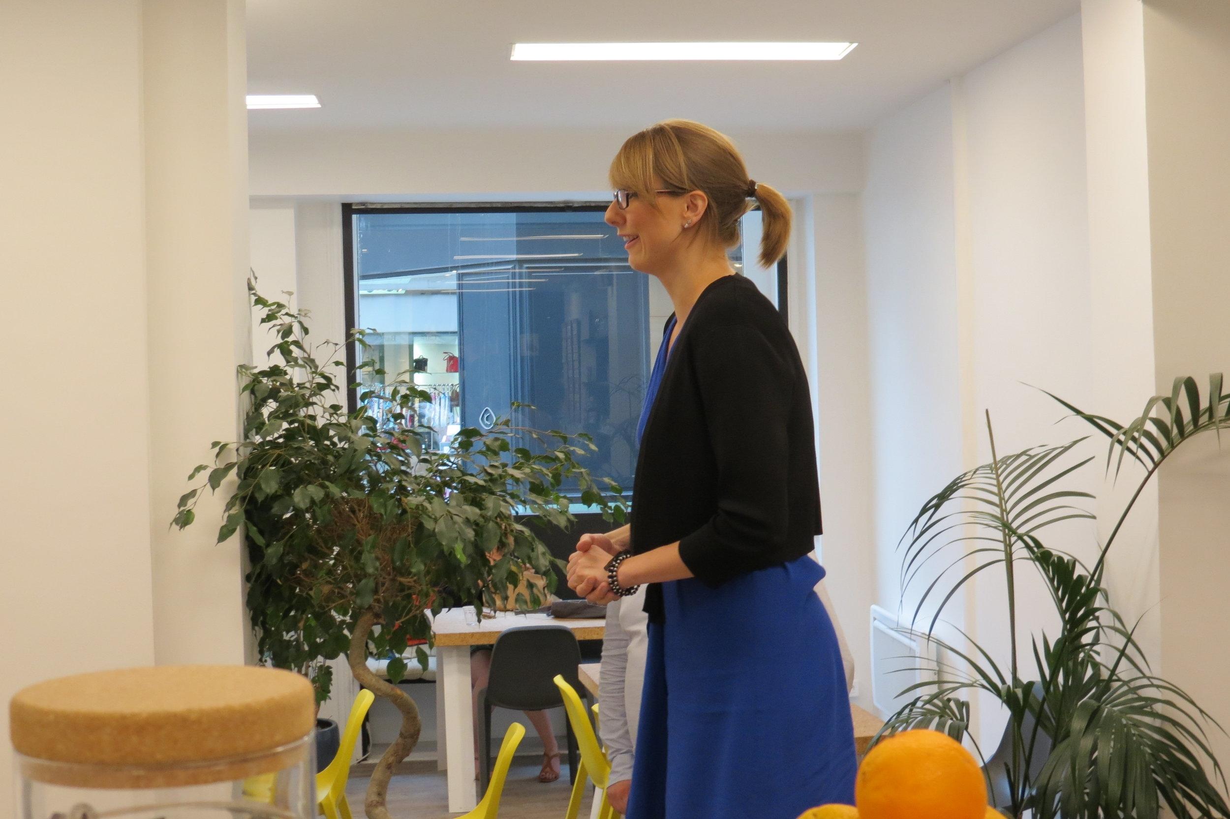 Anne Catherine Rosenblatt de Subteno, gagnante de la Licorne du mois en juillet 2017