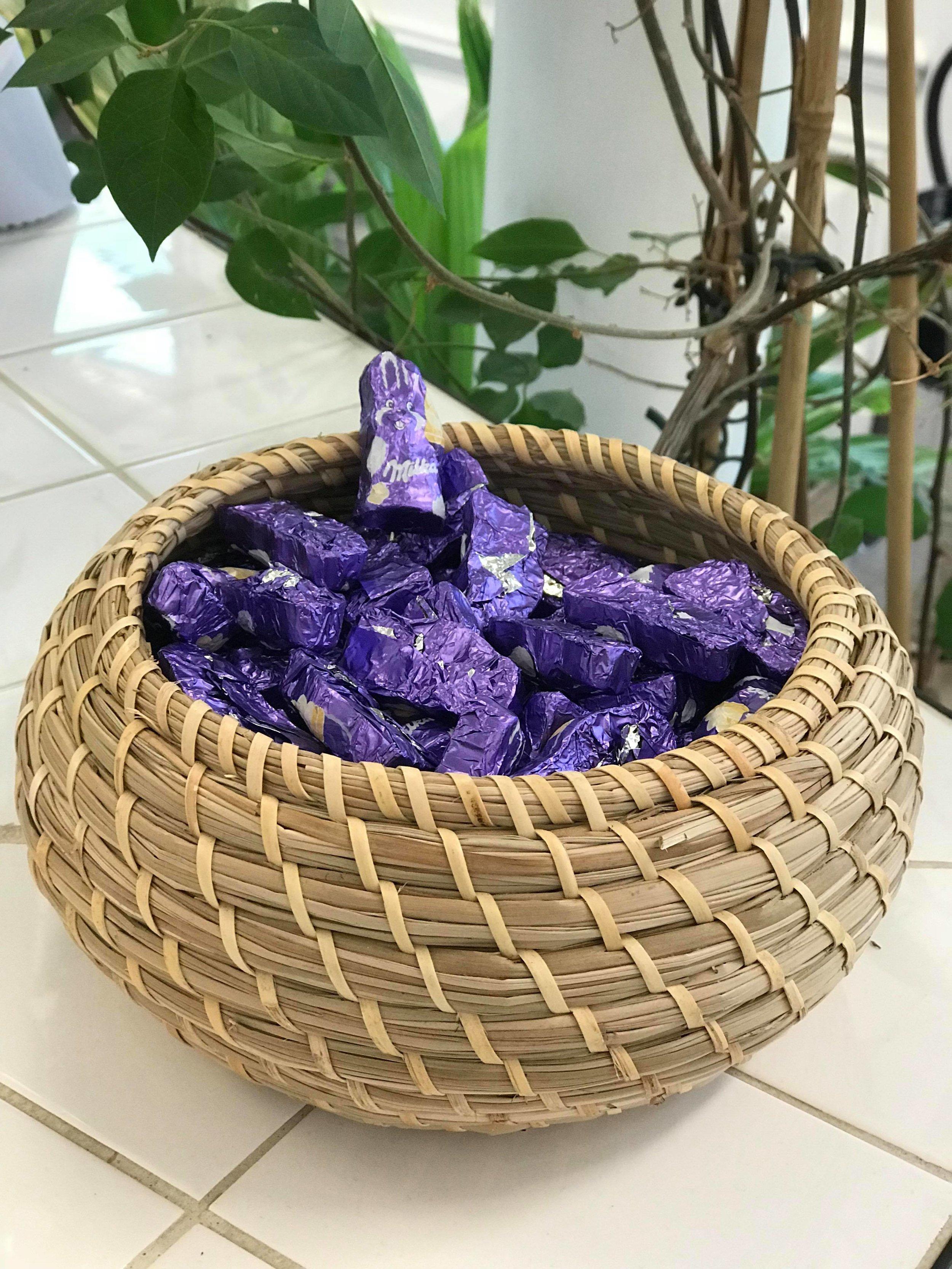 Notre butin de Pâques !  🍫🍫