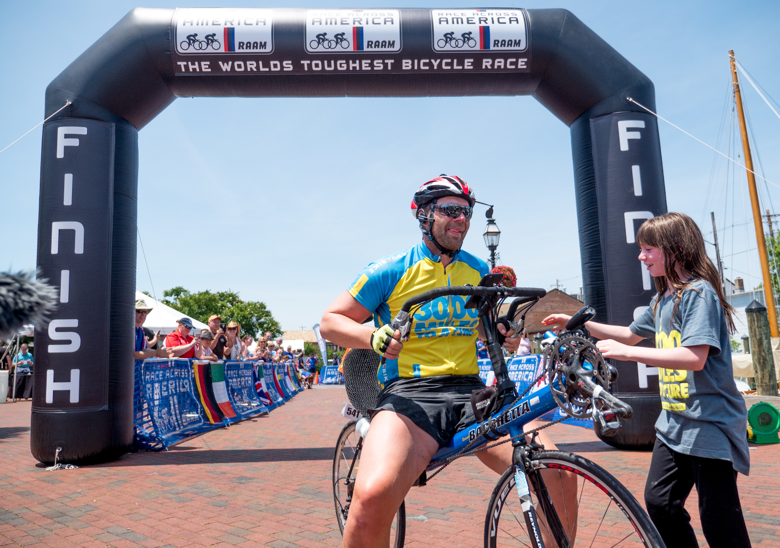 Congratulations Rob. You turned the hardest cycling race in the world into a 12-day traveling party, and cross the finish line in time. Everyone was blessed to watch you grow on your journey and help you get through it. We can't wait to support you on your next ultra-event.