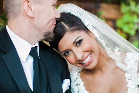 Review from Jessica for our hair and makeup artists on her wedding day
