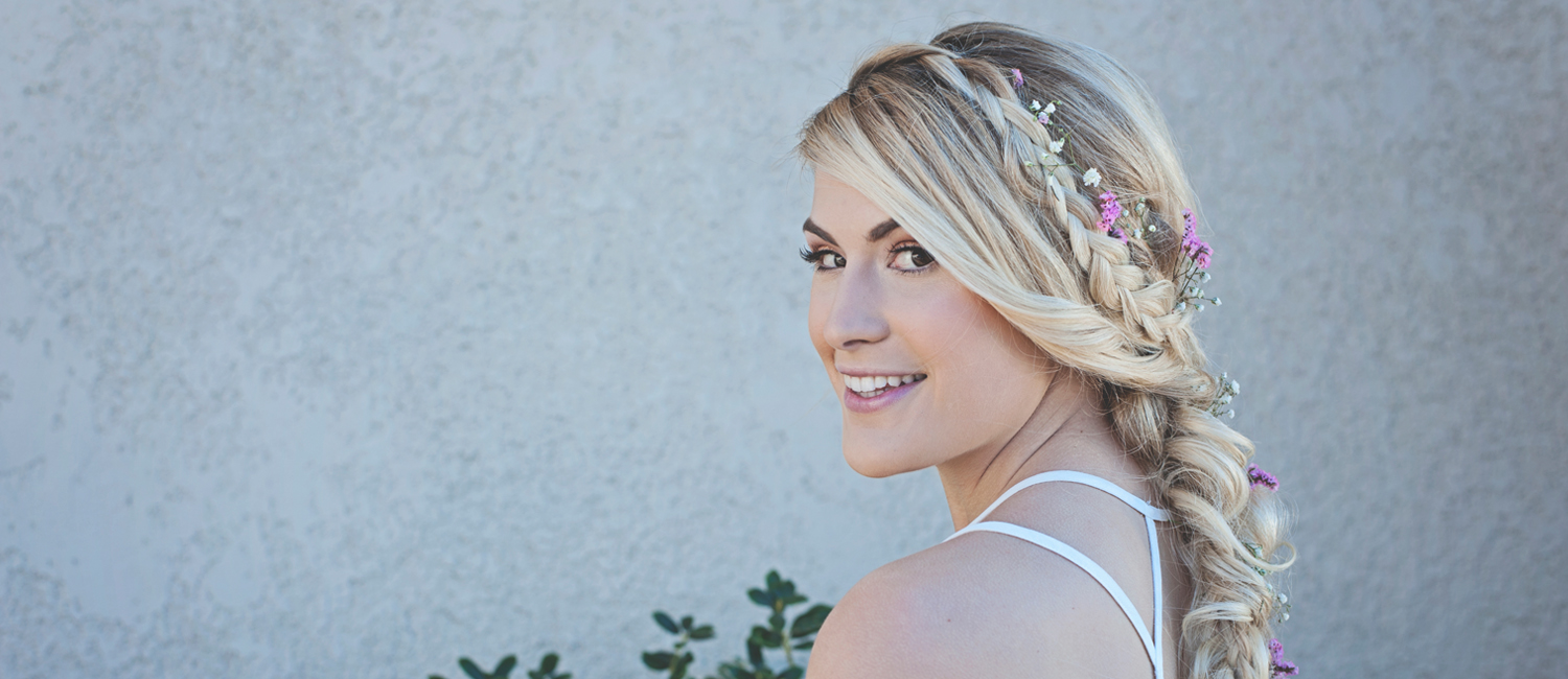 Hair and Makeup services for brides at wedding in Dallas, Fort Worth and North Texas
