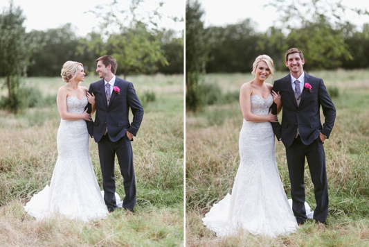 Kelsey from Highland Village review on bridal hair and makeup on her wedding day