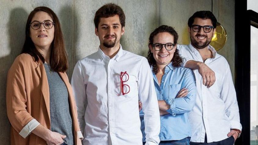 María José Madero, Eduardo Paullsen, Mariana Castillo y Beni Pérez de Ben & Frank / Foto: Nancy López / Entrepreneur en Español