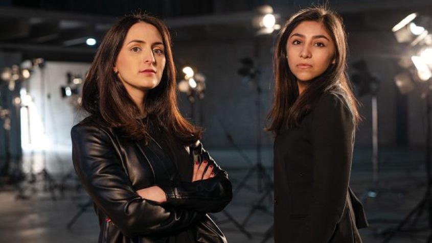 Liza y Karen, creadoras de Fitpass. Foto: Fernando Luna Arce / Forbes México.