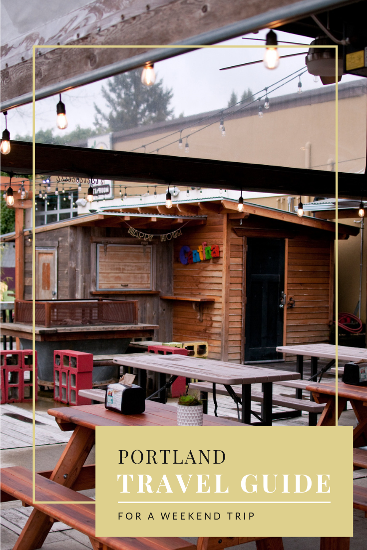Portland Travel Guide for a weekend trip