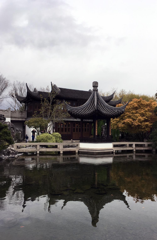 Lan Su Garden Portland Oregon